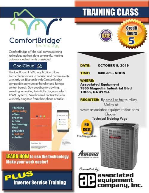 ComfortBridge training flyer